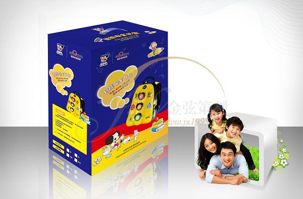 冬己娃娃智能安全儿童书包包装设计 包装设计 未命名  第3张