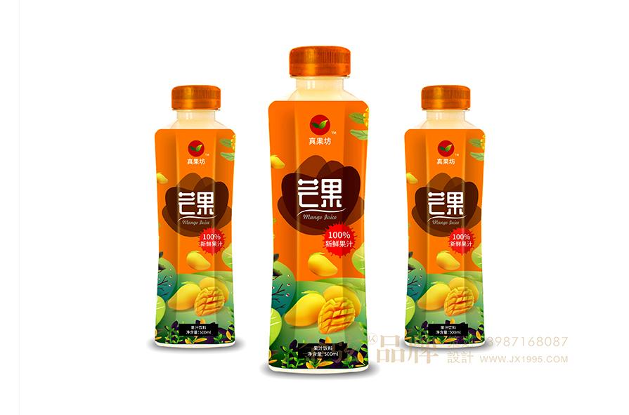 真果坊饮料包装设计公司 饮料包装设计 饮料logo设计 饮料电商设计 包装设计  第1张