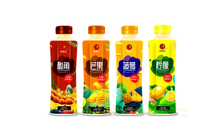 真果坊饮料包装设计公司 饮料包装设计 饮料logo设计 饮料电商设计 包装设计  第4张